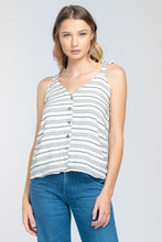Load image into Gallery viewer, Kylie Striped Tank