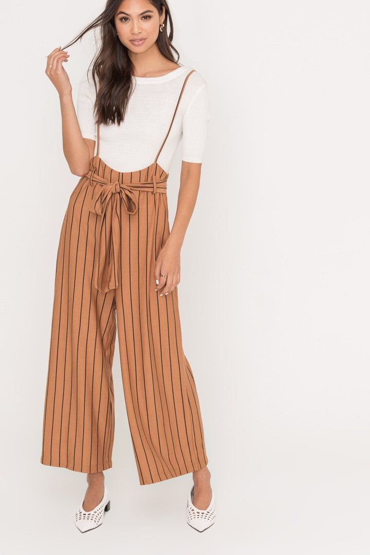 Marilyn Pin Striped Jumpsuit