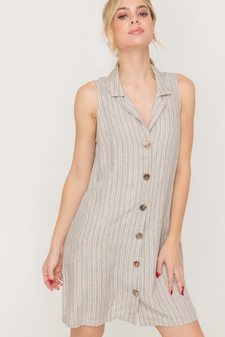 Go With The Flow Shirt Dress