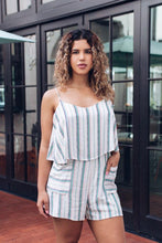 Load image into Gallery viewer, Seize the Day Striped Romper