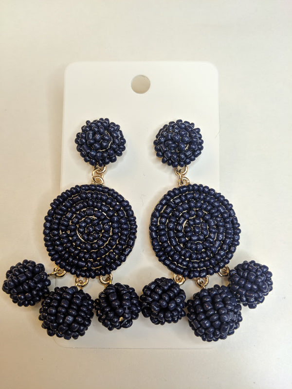 Navy Dream Earrings