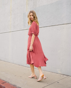 Prairie Vibes Midi Dress