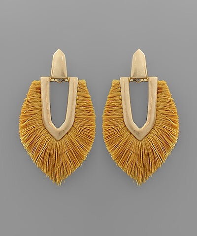 Must Have Mustard Earrings