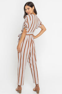 Sugar & Spice Striped Jumpsuit