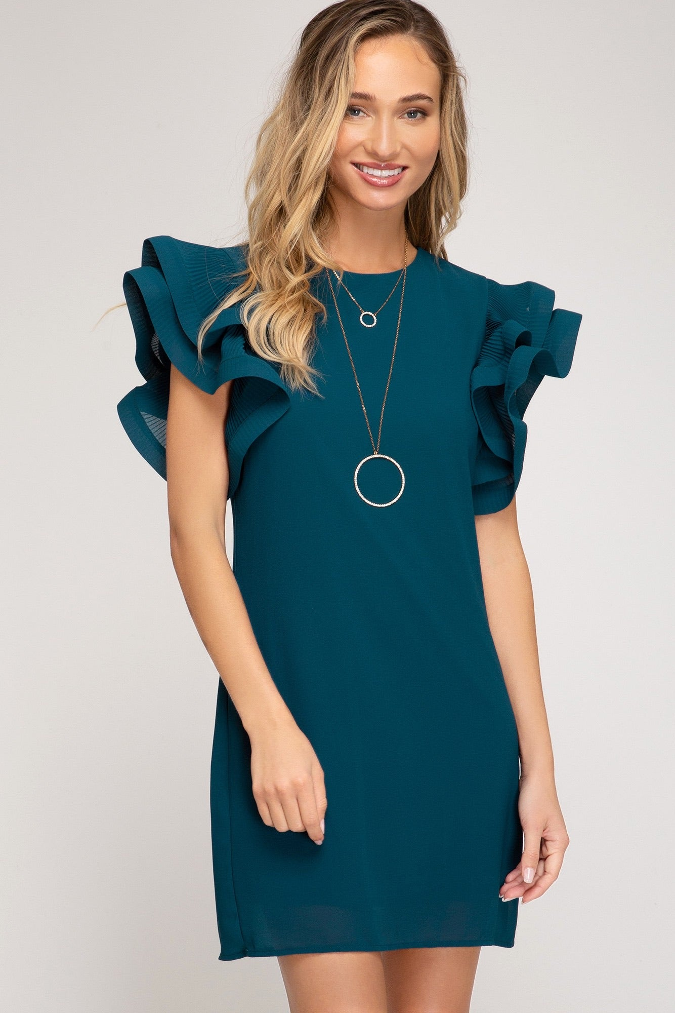 Sky Sheath Dress