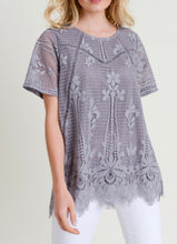 Load image into Gallery viewer, Perfectly Posh Lace Top