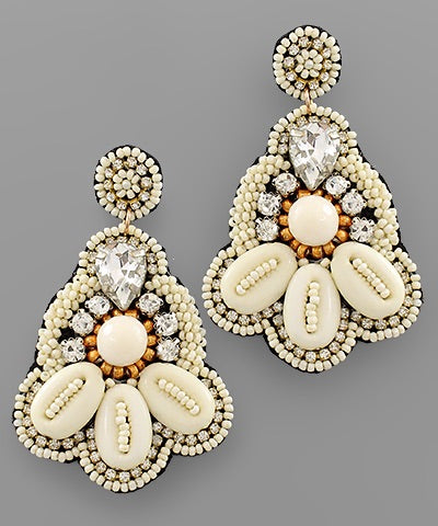Harlow Beaded Earrings