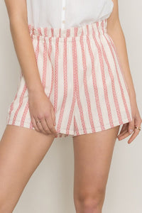 Hit The Streets Striped Shorts