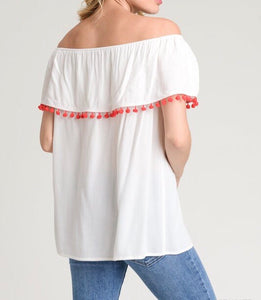 Show Off Embroidered Top