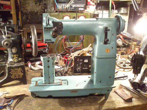 January 2013, bought my first industrial sewing machine from Rakvere.