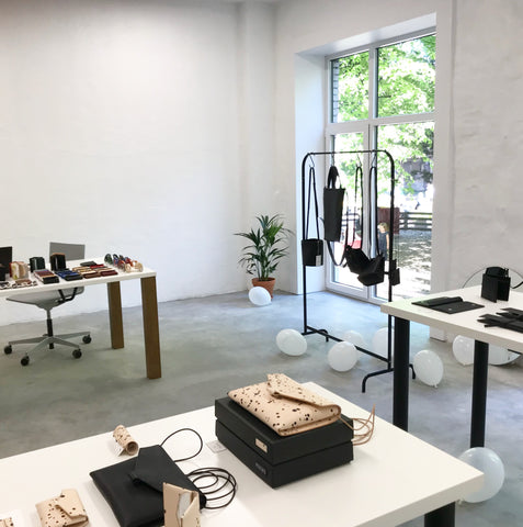 Opening of our Telliskivi store on 19th of May 2018. So much space and just a few items!
