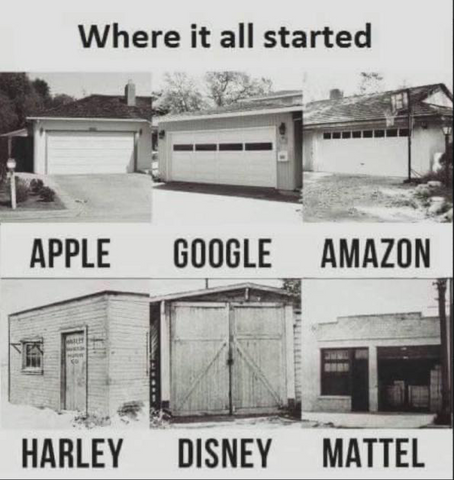Where it all started, just like Apple, Google, Amazon, Harley, Disney, Mattel - in a garage. In Estonia garages are not that popular places to start a business, because first you need to have a house with a garage to start a business in a garage.