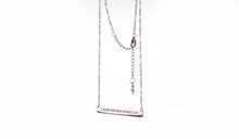 Load image into Gallery viewer, LOVE NEVER GIVES UP - Necklace