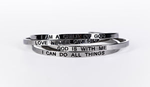 GOD IS WITH ME - Embrace Bundle 3 Pack