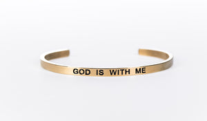 GOD IS WITH ME - Embrace Faithlet