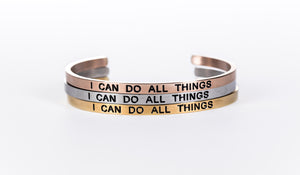 I CAN DO ALL THINGS - Embrace Bundle 3 Pack