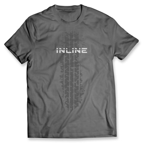 Inline Tire Mark Gray Tee