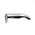 Euro Black & White Sunglasses