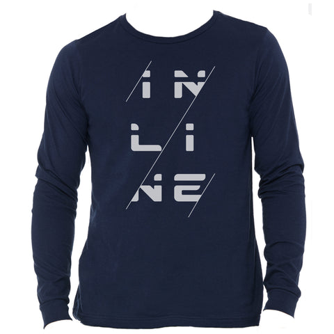 Inline Navy Long Sleeve Shirt