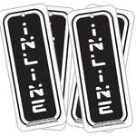 Inline Dark Ice Air Freshener 4PK