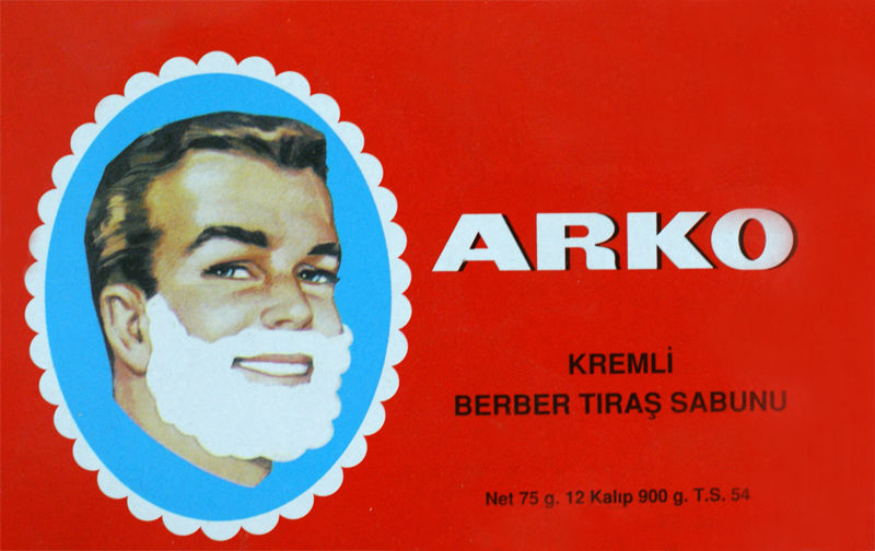 Arko Shaving Soap Creamy Lather Moisturising Turkish Soap Stick 75 Grams 1/2/3/6/12 pieces