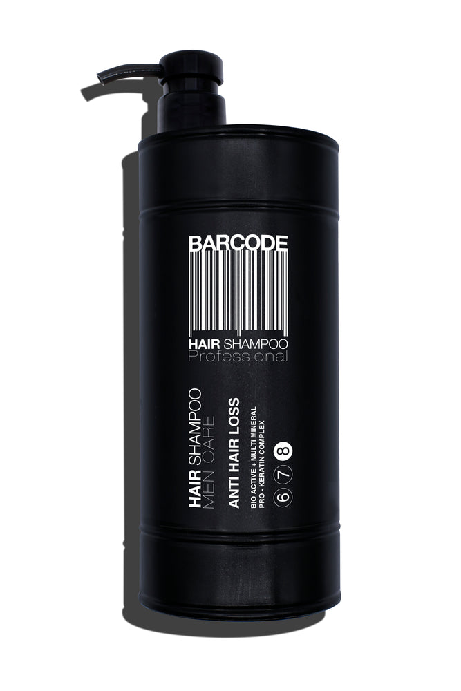 Barcode Anti Hair Loss Shampoo Mineral Formula with Keratin 1,000ml 1/2/3/4 pieces