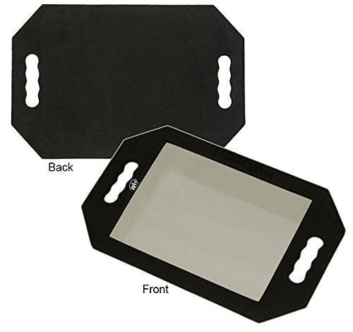 Hand Held Foam Padded Rectangle Mirror Shock-Drop Resistance 1/2/3/4/5/6 pieces