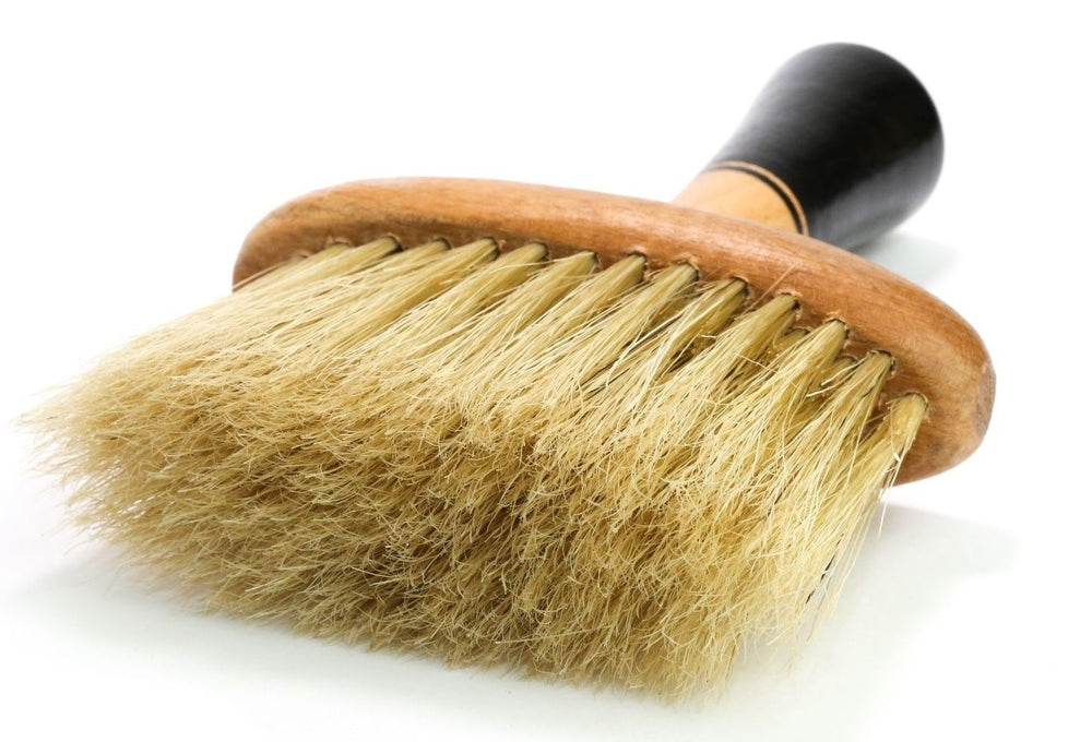 Jaguar Rodeo Hand Made Natural Boar Bristle Neck Brush Duster Square 964 1/2/3/4/5/6 pieces