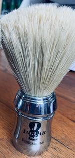Jaguar Rodeo Pure Boar Bristle Shaving Brush Large Size Chrome 1/2/3/6/12 pieces