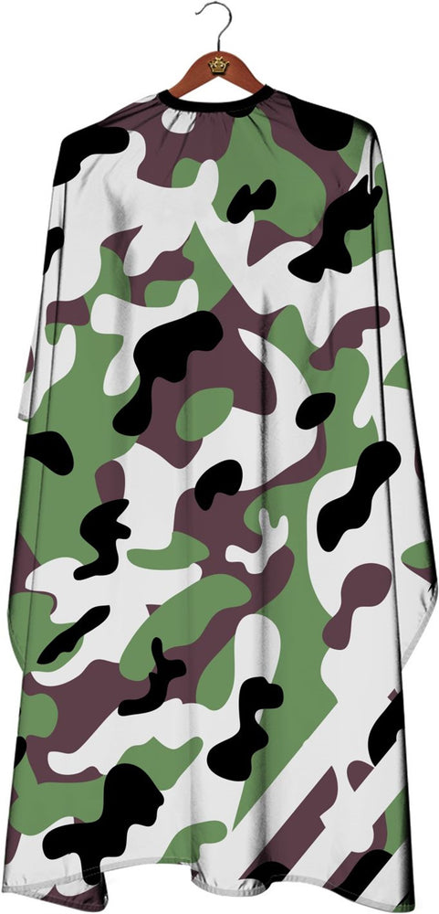 James Hunter Barber Camouflage Cape Gown Satin Waterproof Anti-static E111 1/2/3/6/12 pieces