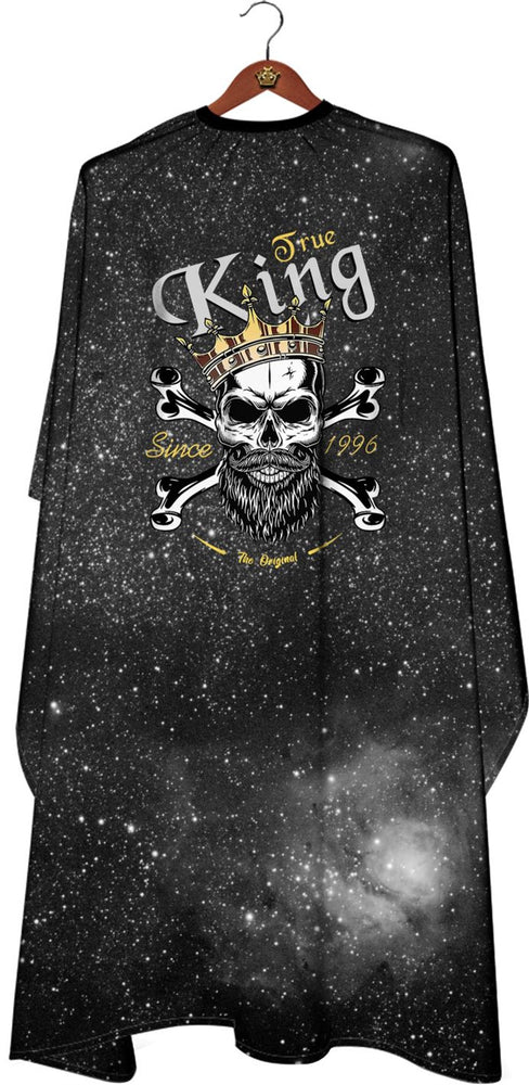 James Hunter Barber Galaxy Skull Cape Gown Satin Waterproof Anti-static E103 1/2/3/6/12 pieces
