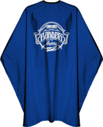 James Hunter Barber King Cape Gown Blue Satin Waterproof Anti-static 1M 1/2/3/6/12 pieces