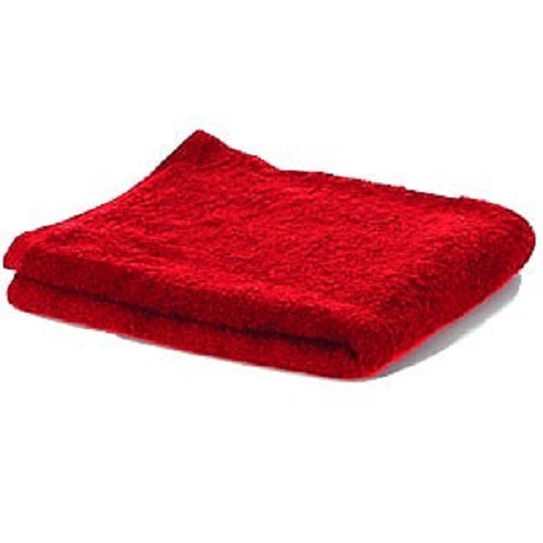 James Hunter 100% Cotton Luxurious Barber Salon Towels in Red 1/3/6/12/24/36 pieces
