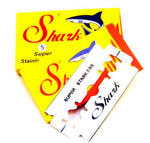 Shark Double Edge Razor Blades Super Stainless Steel 5/10/20/50/100/200 Pieces
