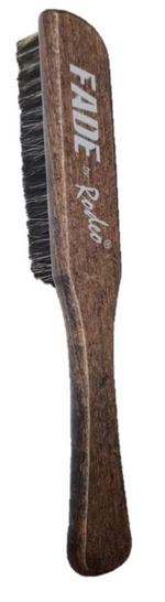Jaguar Rodeo Fade Brush for Skin Fade, Blade, Comb and Scissors Cleaning Wooden Boar Bristles Brush Large 1/2/3/6 pieces