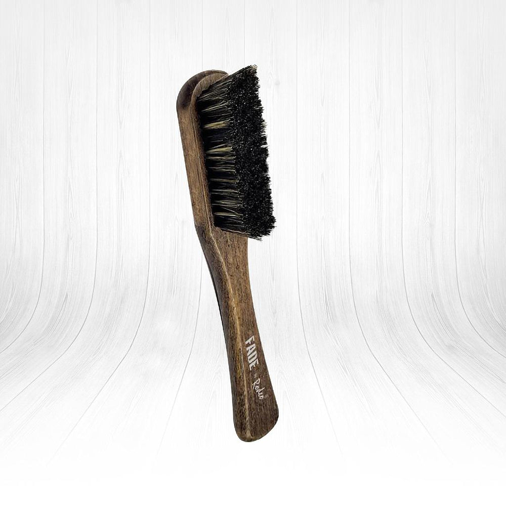 Jaguar Rodeo Fade Brush for Skin Fade, Blade, Comb and Scissors Cleaning Wooden Boar Bristles Brush Small 1/2/3/6 pieces