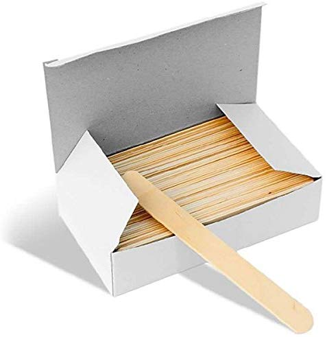 Wooden Waxing Large Spatula Sticks Pack of 100 pieces 1/2/3/6 packs