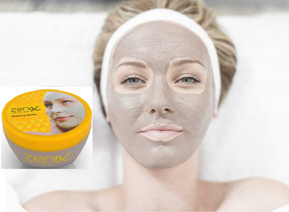 Zenix Dead Sea Clay Face Mask with Honey scent 300ml 1/2/3/6 pieces