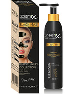 Zenix Peel-Off Black Face Mask Blackhead Remover Acne Spot Skin Treatment 130ml 1/2/3/6 pieces