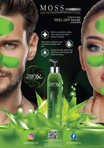 Zenix Peel-Off Seaweed Face Mask Blackhead Remover Acne Spot Skin Treatment 130ml 1/2/3/6 pieces