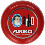 Arko Shaving Soap Creamy Lather Moisturising Turkish Soap Bowl Case 90 Grams 1/2/3/6/12 pieces