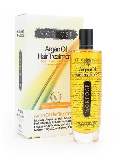 Morfose Argan Oil Hair Treatment with Herbal formula Moisturising and Conditioning Effect 100ml
