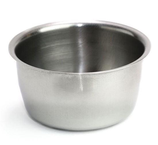 Stainless Steel Shaving Bowl, Mug, Cup for Shaving Brush and Soap 1/2/3/6/12 pieces