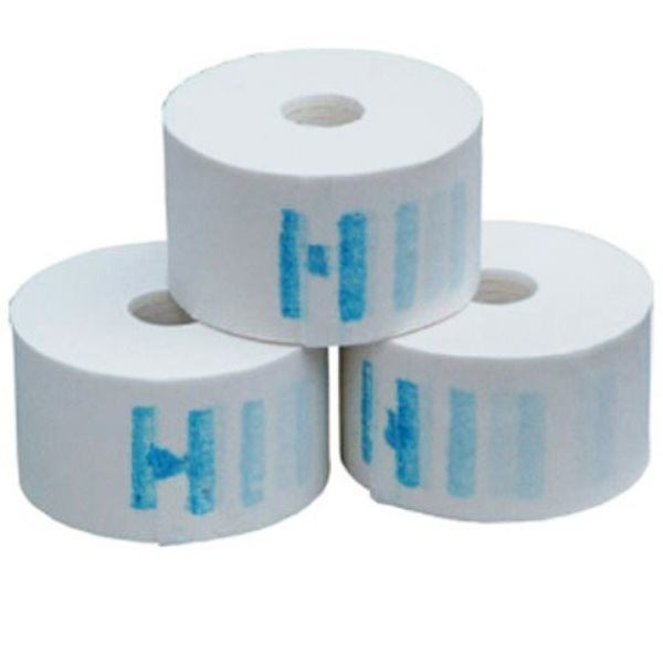 Fixegoiste Disposable, Elastic and Waterproof Neck Paper Strips Collar Rolls 1/2/3/4/5/10/20 Rolls