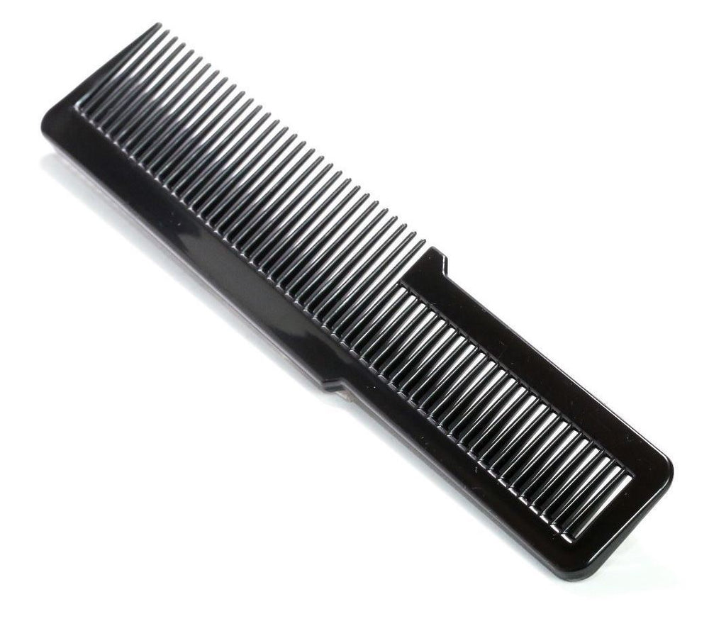 Wahl Style Barber Comb Flat Top Clipper Comb for Creating Fades & Styling Hair Cuts Large Size 1/2/3/6 pieces