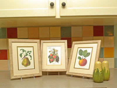 Vintage Kitchen Fruit Prints