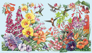 Hummingbird Garden Species Identification Chart