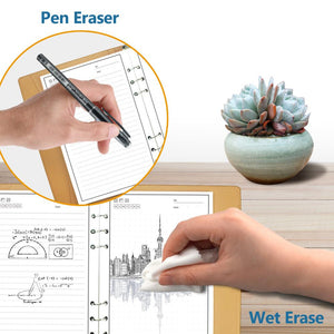 ELFIN X Erasable Smart Paper Leather Notebook