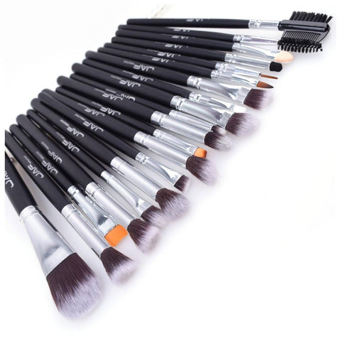 Image of Makeup Brushes,  Professional 20 Pcs/set, Foundation, Eye Shadow, Blending, Cosmetics Make-up Tools 100% Vegan Synthetic Taklon