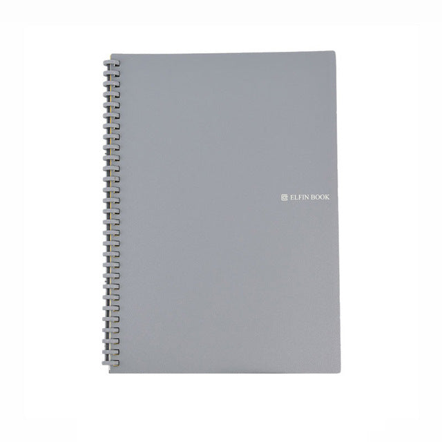 Elfinbook Smart Reusable Erasable Spiral A5 B5 Notebook Paper Notepad Journal Drawing Painting Pocketbook like Rocketbook